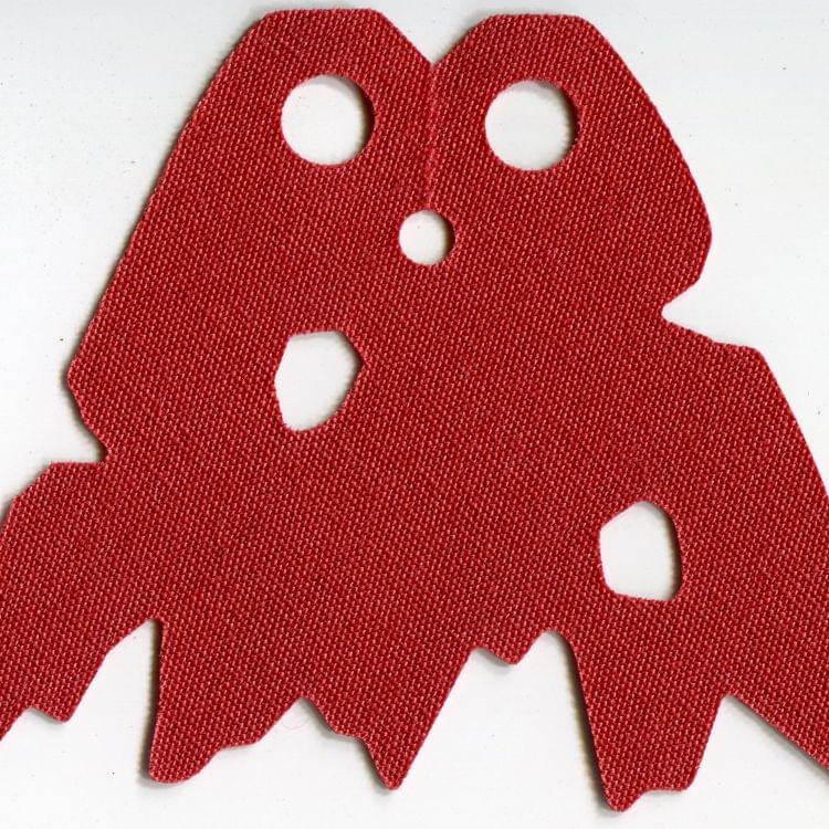 LEGO Cape Cloth Holes and Tattered Edges Dark Red Minifig