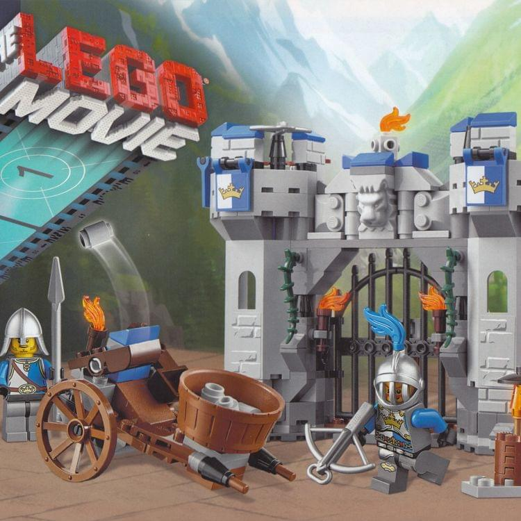 Lego Instruction For Set 70806 Castle Cavalry At Brickscout