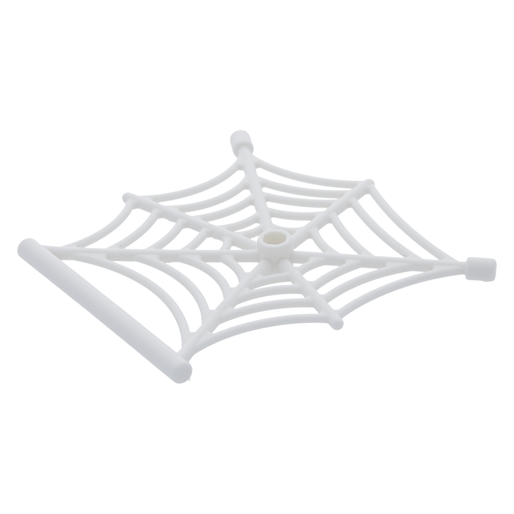 LEGO SPIDER WEB ~ White Hanging Spiderweb Insect Animal Accessory *** NEW ***