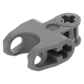 Lego 4 Black technic axle connector 2x3 ball socket NEW