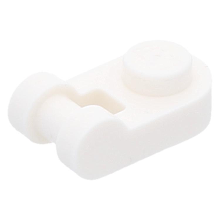 LEGO Einzelteil 26047 - White Plate, Modified 1 x 1 ...