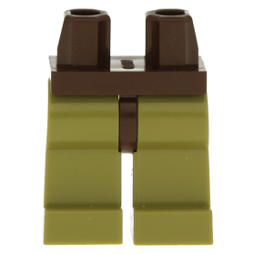 NEW LEGO Minifigure OLIVE GREEN Legs  Assembly.