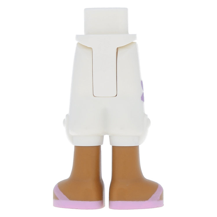 Lego Violet Minifig Legs w// White Hips NEW
