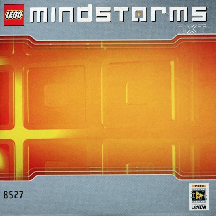 LEGO Instruction CD-ROM for 8527 Mindstorms NXT v1 1