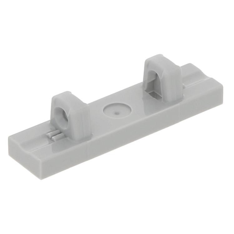 Lego Lot of 5 New Dark Bluish Gray Hinge Tiles 1 x 4 Locking Dual 1 Fingers Top