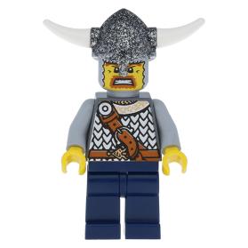 LEGO minifigure vik008 - Viking Warrior 4d at BrickScout
