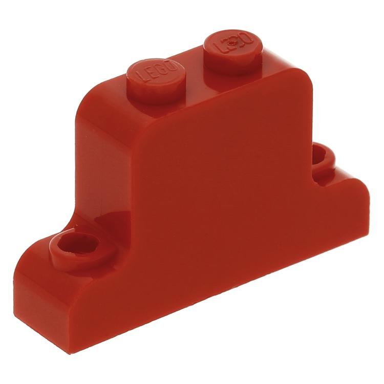Lego Part Fabaj1 Red Fabuland Brick Modified 1 X 4 X 2 Bell Shape