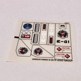 10095459//4620859 LEGO®  1x Sticker Aufkleber Friends 3189