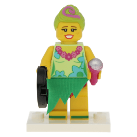 LEGO MOVIE 2 MINIFIGURE MINIFIG SERIES HULA LULA NEW