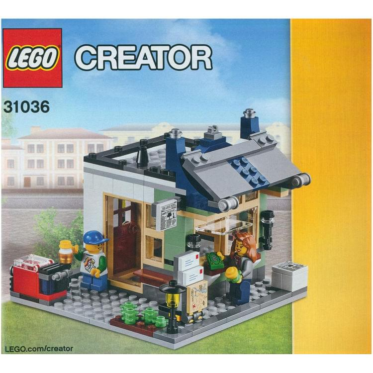 Lego Instruction For Set 31036 Toy Amp Grocery Shop At Brickscout