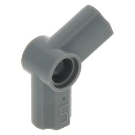 LEGO x 20 Dark Bluish Gray Technic Axle and Pin Connector Angled #1