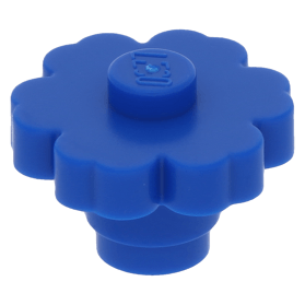 NEW 98262 LEGO  LOT OF 5 Blue  Flower 2 x 2 with Solid Stud