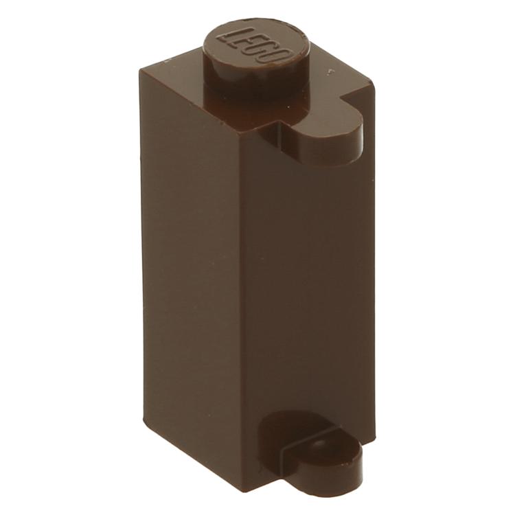 LEGO 3581 1X1X2 Brick W Obturateur Support-Choix Couleur-PT-B-12