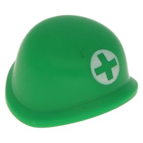 Green Headgear Army Helmet LEGO Minifig