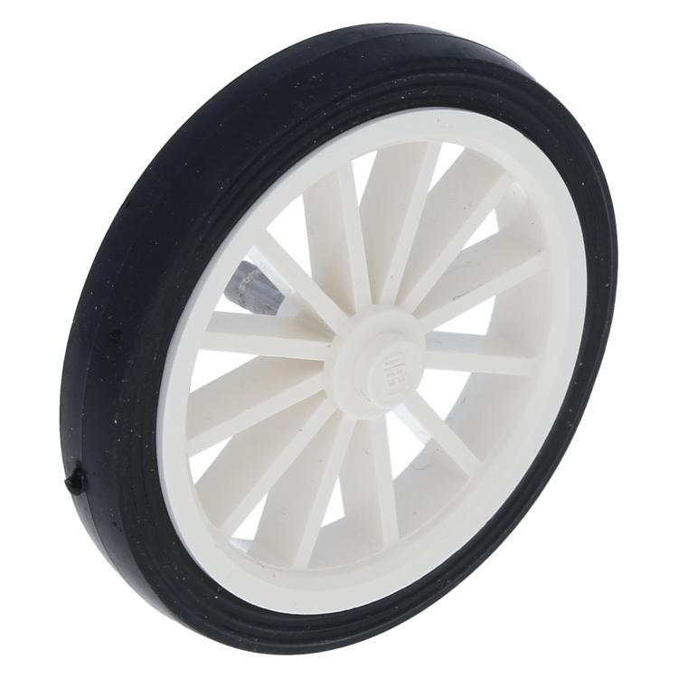 Large  Wheel Spoked Large LEGO 35 36 Black Tire Smooth Old Style