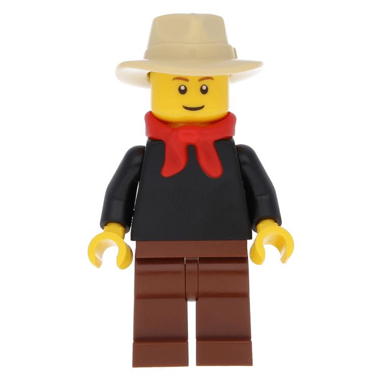 f08c58553714e LEGO minifigure ww009 - Gold Prospector - Male (9349) at BrickScout