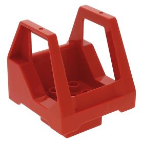 Left & Right Lego Slope Wedge 4x2 43721 & 43720 - White x1 Pair