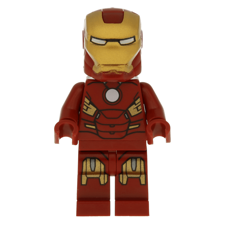 Iron Man With Circle On Chest