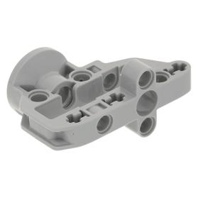Lego Dark Bluish Gray Technic Steering Wheel Hub 3 Pin Round Parts Lot of 4