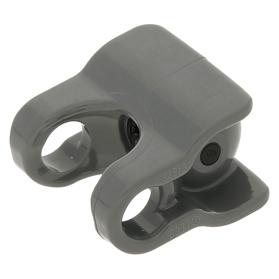 LEGO Parts~2 Hero Factory Arm//Leg Ball Joint Axle Ball Socket Hole 90608 Black