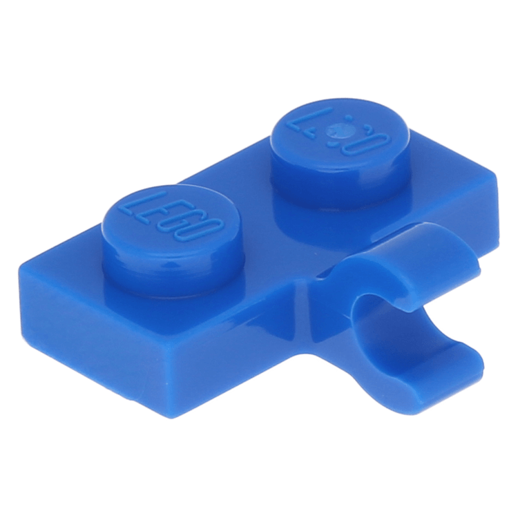 LEGO Plate 1X2 with Horizontal Side Clip NEW 11476 choose colour and quantity
